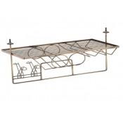 Подвесной бар для кухни 653х310х310, античная бронза