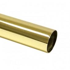 Труба барная d=50, Н=3000 мм для барной стойки, золото