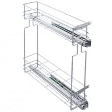 Бутылочница для кухни 150 мм в верхний шкаф с доводчиком