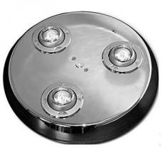 Подсветка круглая с 3-мя светильниками, D=360, барная, хром глянец