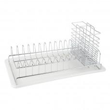 Сушка для посуды настольная 490х330х112 мм, хром глянец