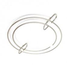 Держатель бокалов круглый 315 мм, античная бронза