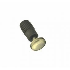 Заглушка для рейлинга малая античная бронза