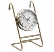 Часы на кухонный рейлинг, античная бронза
