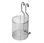 Стакан сетка для столовых приборов, хром глянец
