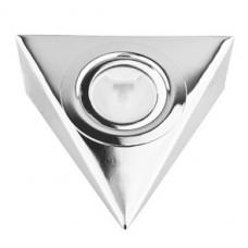Треугольный светильник для кухни, хром глянец 12В