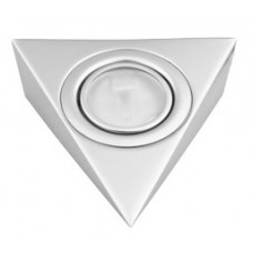 Треугольный светильник для кухни, матовый хром 12В
