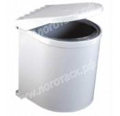 Мусорное ведро для кухни пластиковое автоматическое открывание крышки