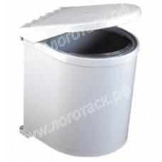Мусорное ведро пластиковое для кухни автоматическое открытие крышки